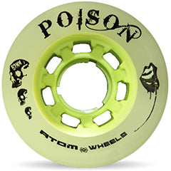 Atom Poison 62mmx44 84a (4 Pack) Green