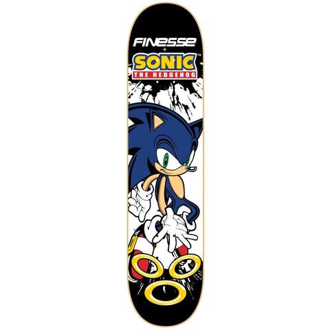 Finesse Sonic Series Deck Sonic the Hedgehog 8.0""