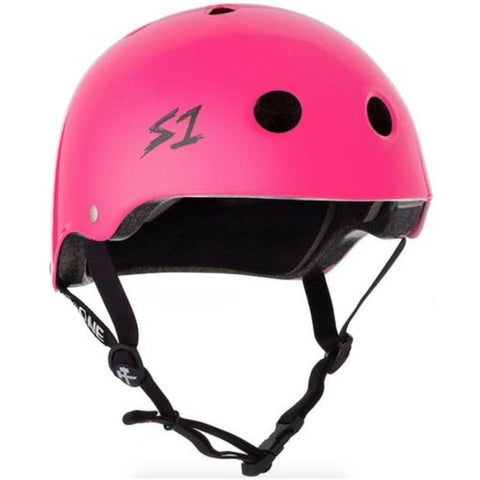 S-One Lifer Gloss Hot Pink Helmet