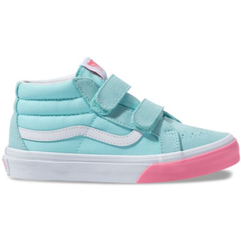 Vans Sk8-Mid Reissue V (Colour Block) Blue Tint