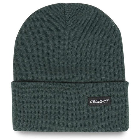 Flexfit Folded Blank Beanie Forest Green