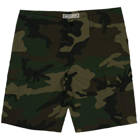Independent NO BS Ripstop Cargo Short Camo