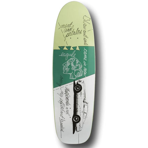 Krooked Effishant Gonz 9.87 Skateboard Deck