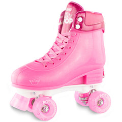 Crazy Skate Glitter Pop Adjustable Rollerskates Pink