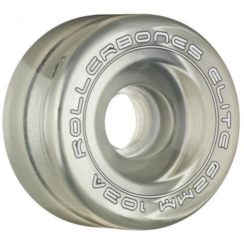 Rollerbones Wheels Art Elite Comp 62mm/103a 8 Pack Clear