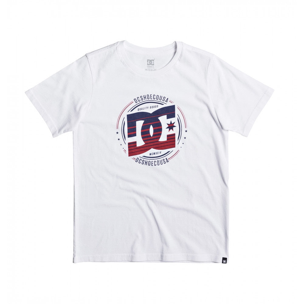 DC Herald Youth Tee White