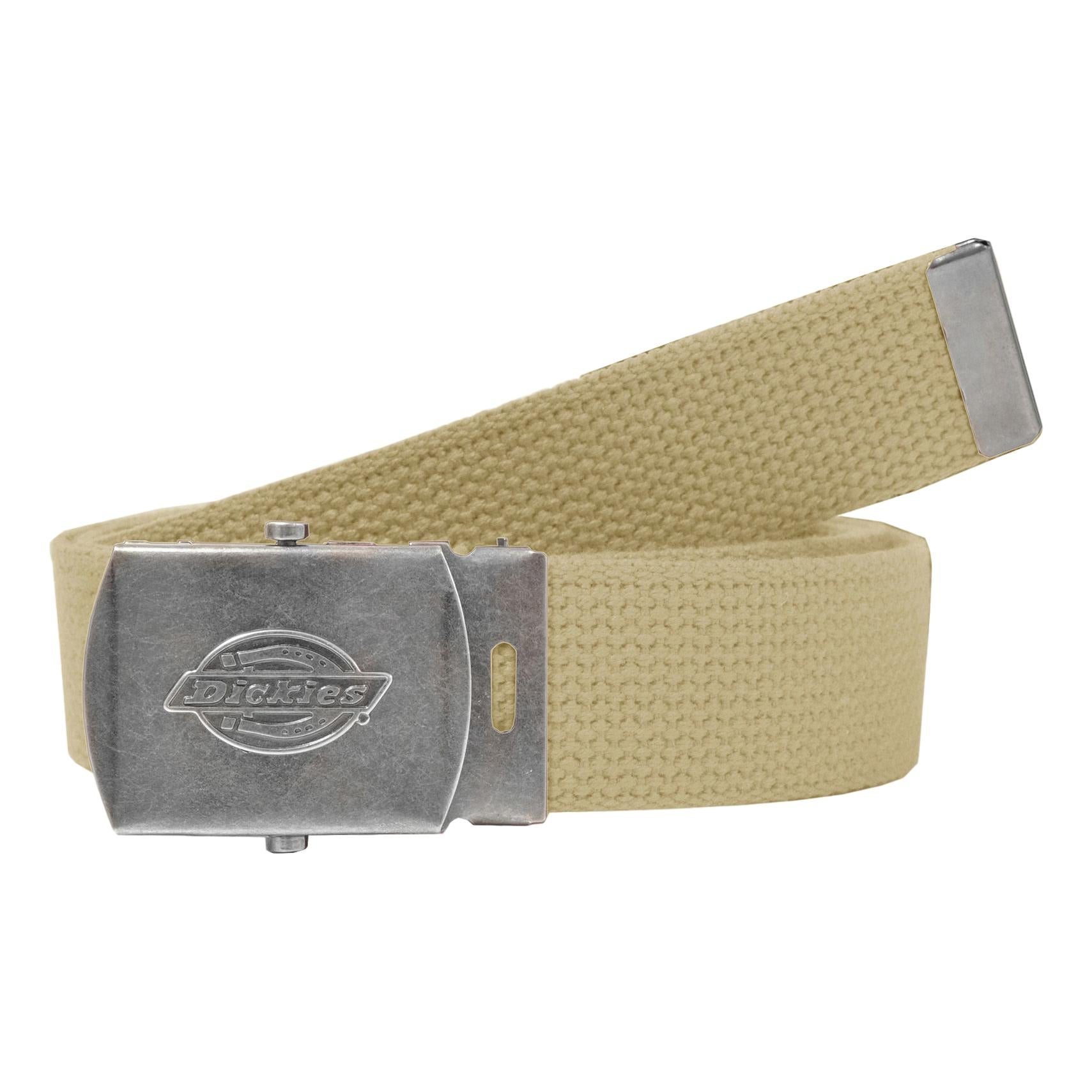 Dickies 30mm Cotton Web Belt Khaki