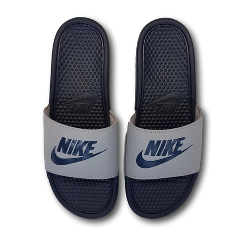 5203272b6eb Nike SB Benassi JDI Slides Wolf Grey Midnight Grey