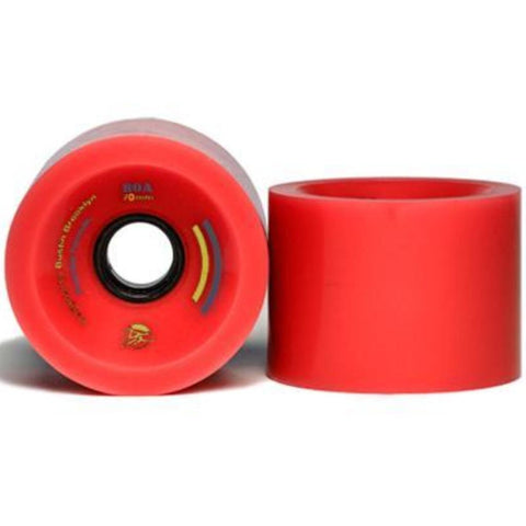 Bustin Boards Premier Wheels 66mm 78a Red 4 Pack