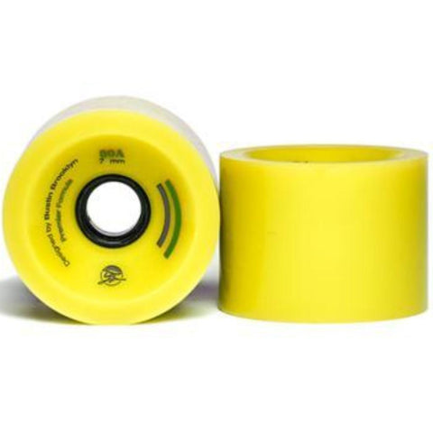 Bustin Boards Premier Wheels 66mm 78a Yellow 4 Pack
