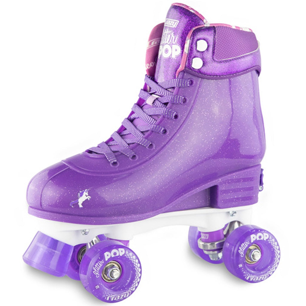 Crazy Skate Glitter Pop Adjustable Rollerskates Purple