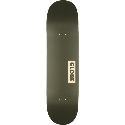 Globe Goodstock Skateboard Fatigue Green 8.25""