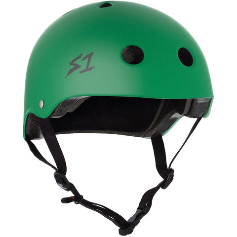 S-One Lifer Kelly Green Helmet