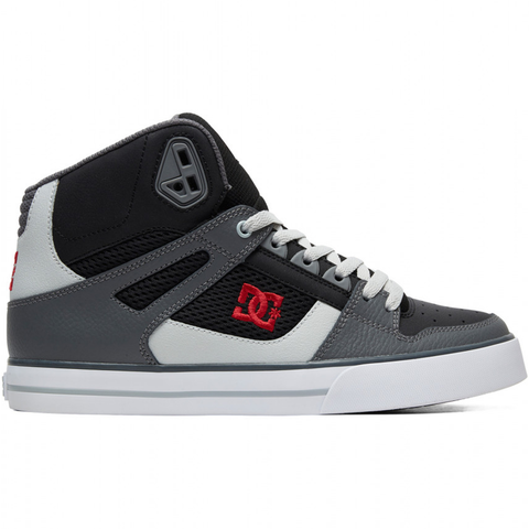 DC Pure High-Top WC Shoe Black/Grey/Red