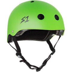 S-One Lifer Matte Bright Green Helmet