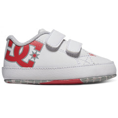DC Court Graphic Infant White/Athletic Red
