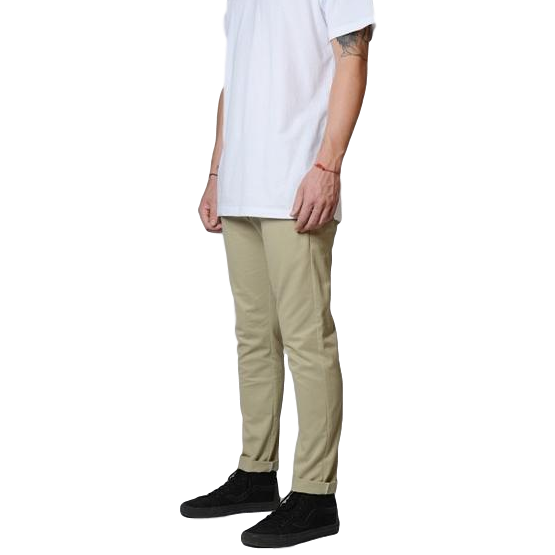 Dickies 801 Skinny Straight Work Pants Khaki