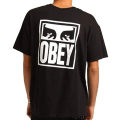 Obey Eyes Icon 2 Box Tee Off Black