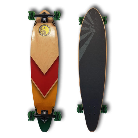Shark x Shiver Rasta Arrow Pintail Complete