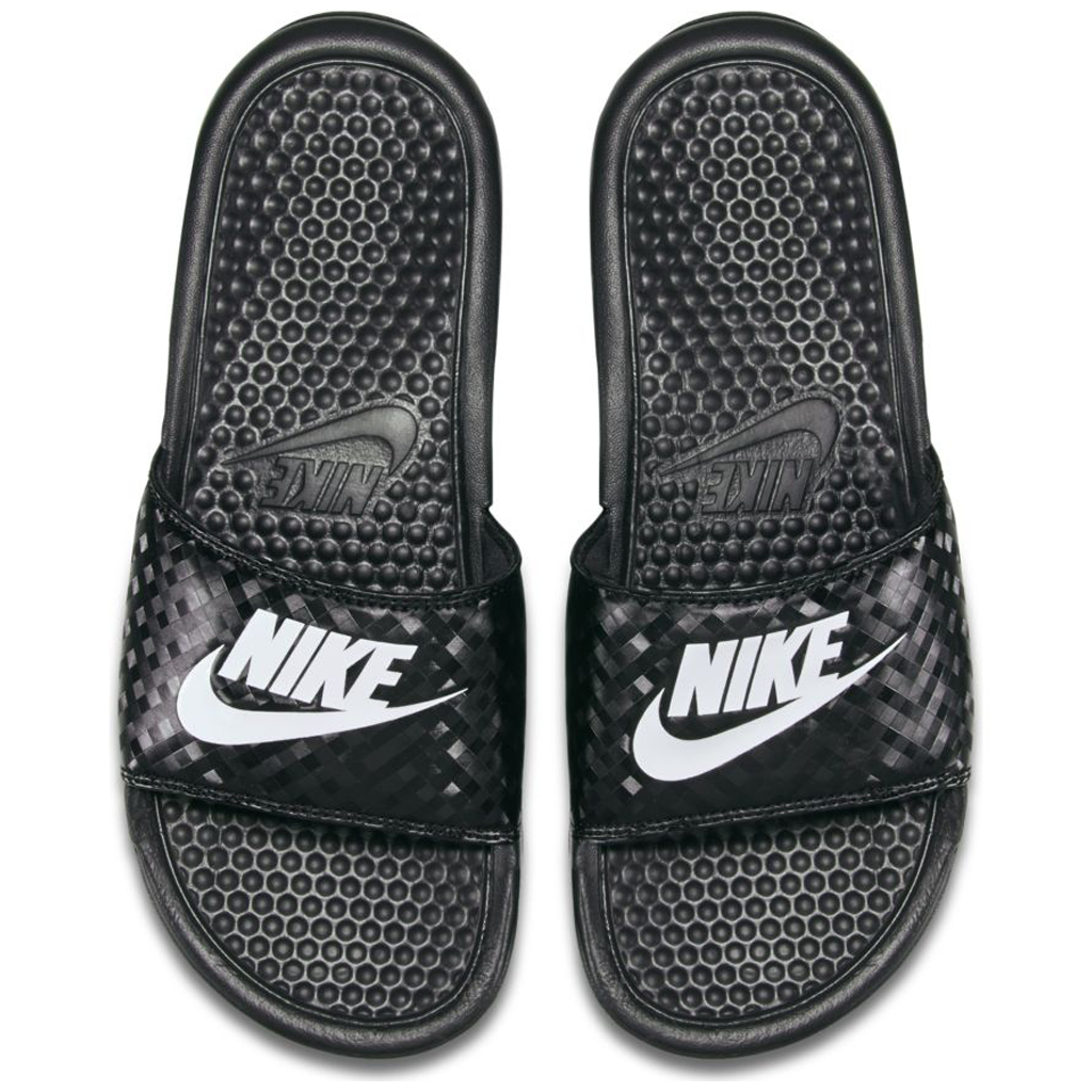 58a268929 Nike Women s Benassi JDI Slide Black   White