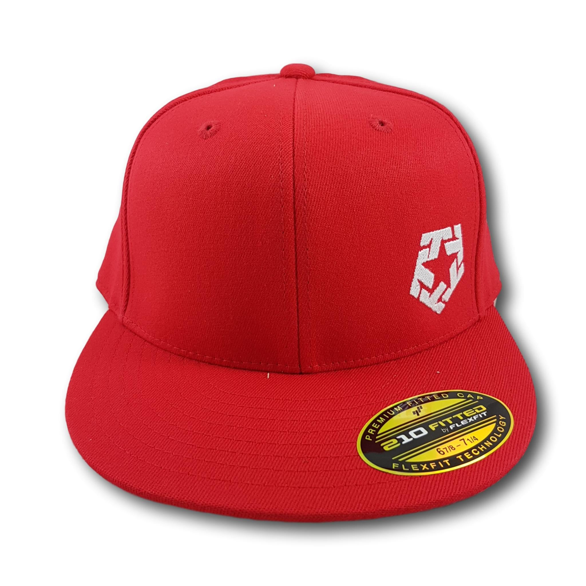 Tribal Gear Mini Logo Flexfit Red