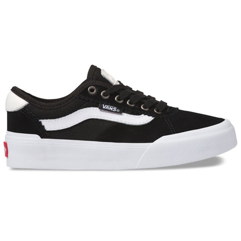 Vans Chima Pro 2 Youth (Suede/Canvas) Black/White