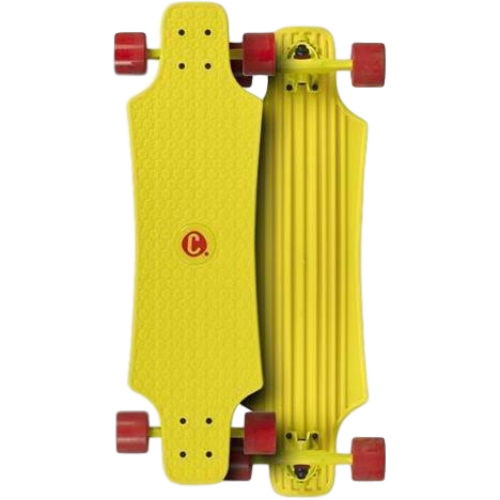 Choke Juicy Susi Large Lars Skateboard Yellow 30x8.5""
