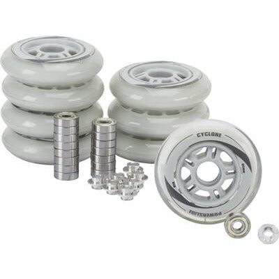 Powerslide F1 90mm Combo w Bearings and Spacers 8 Pack