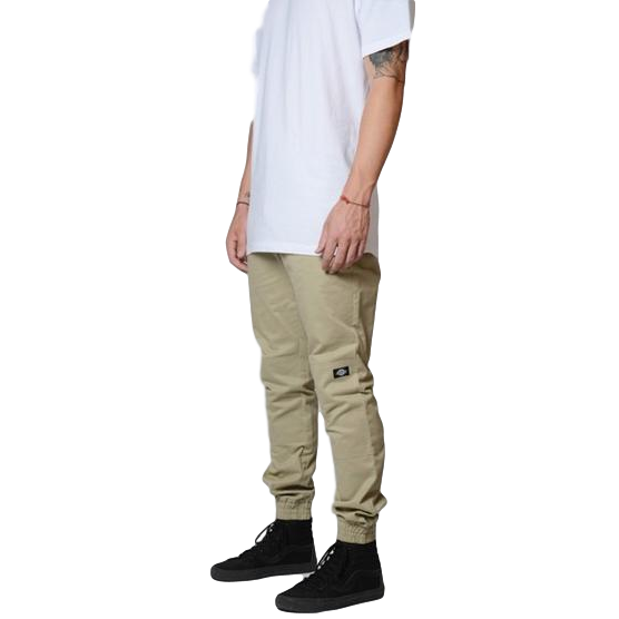 Dickies 918 Elastic Cuff Slim Fit Work Pants Khaki