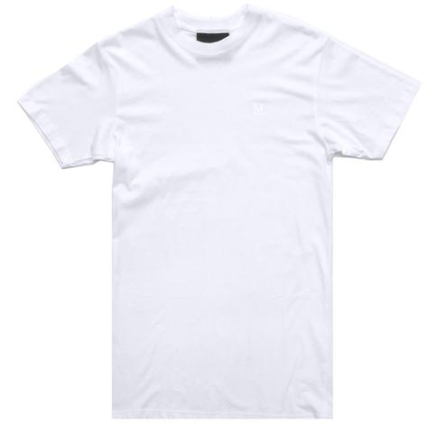 Materialism Tall Tee White