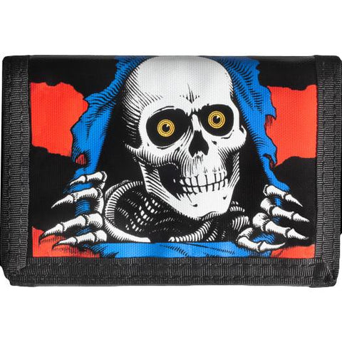 Powell Peralta Ripper Wallet Blue/Red