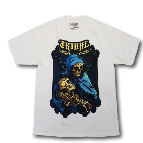 Tribal Dorre Raven Tee White