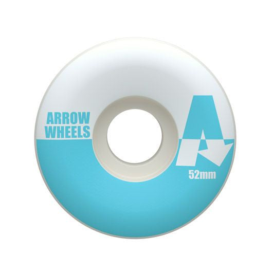 Arrow Pastel Blue Wheels 52mm