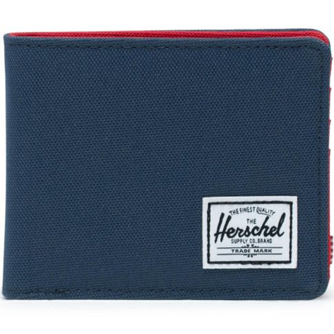 Herschel Roy + Coin Wallet Navy/Red