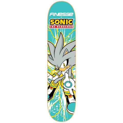 Finesse Sonic Series Deck Silver Sonic 8.0""