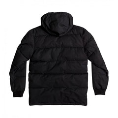DC Aydon Hooded Puffer Jacket Black