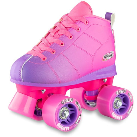 Crazy Rocket Rollerskates Pink / Purple