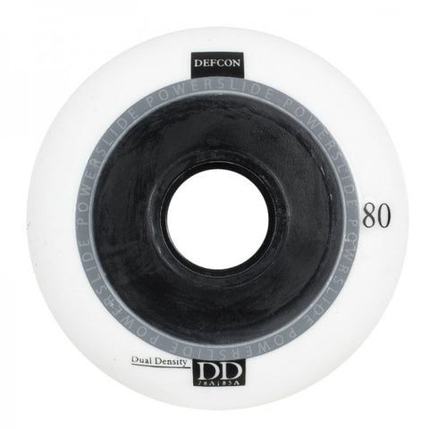 Powerslide Defcon Wheels White 76mm 4 Pack