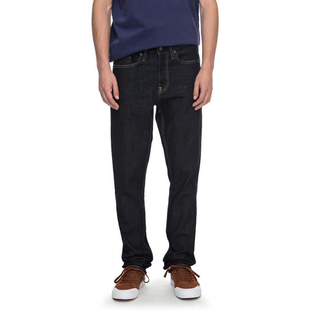 DC Worker Straight Denim Indigo Denim Jean