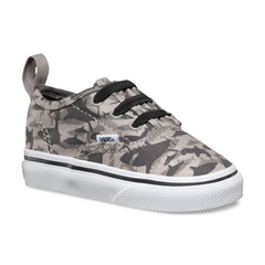 Vans Authentic V Lace (Reef Sharks) Drizzle / White