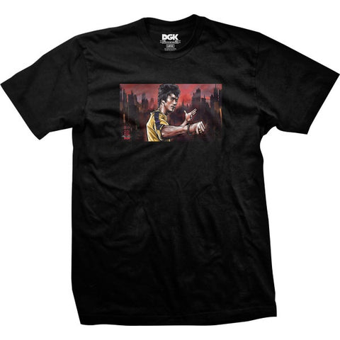 DGK Bruce Lee Warrior Tee Black