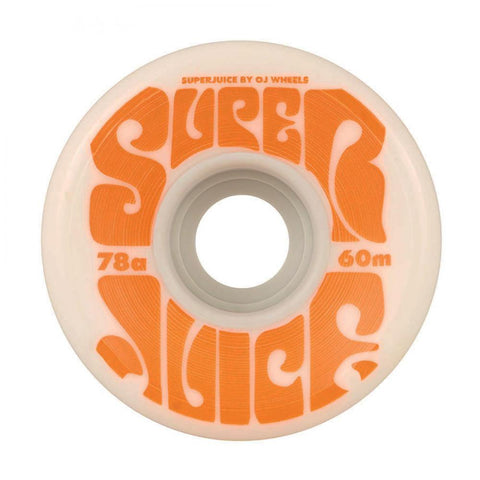 OJ Super Juice Wheels 60mm 78a White
