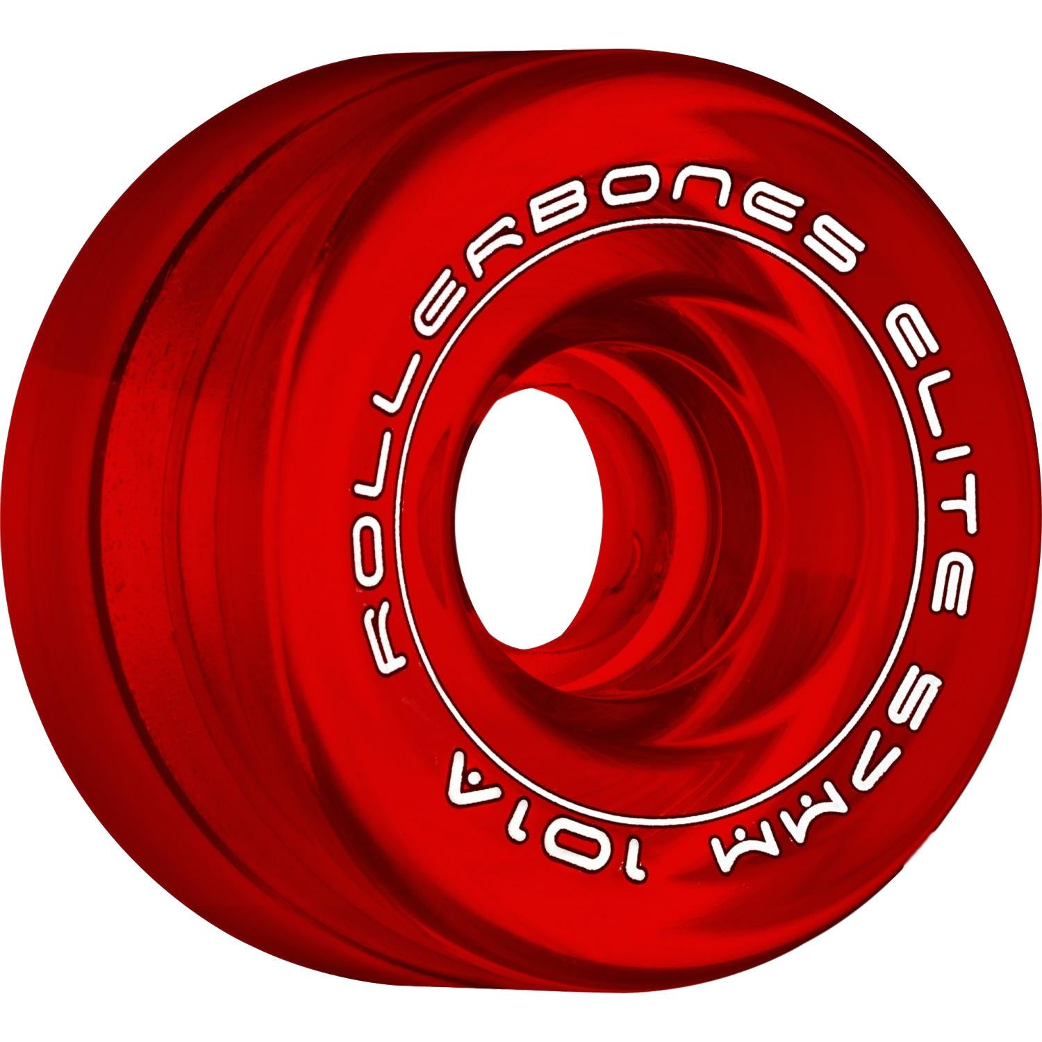 Rollerbones Wheels Art Elite Comp 57mm 8 Pack Red Clear