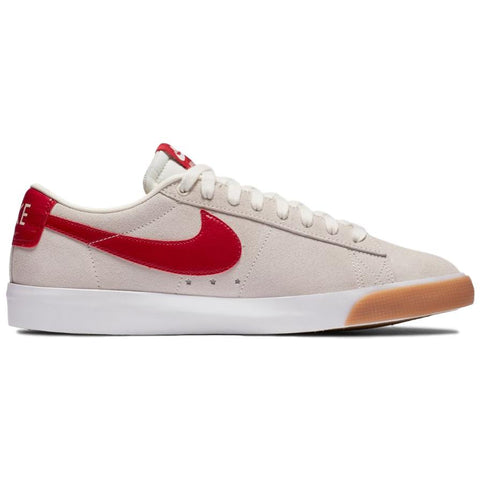 Nike SB Zoom Blazer Low GT Sail/Cardinal Red-White