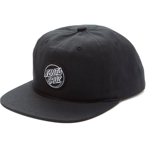 Santa Cruz Aptos Snapback Black