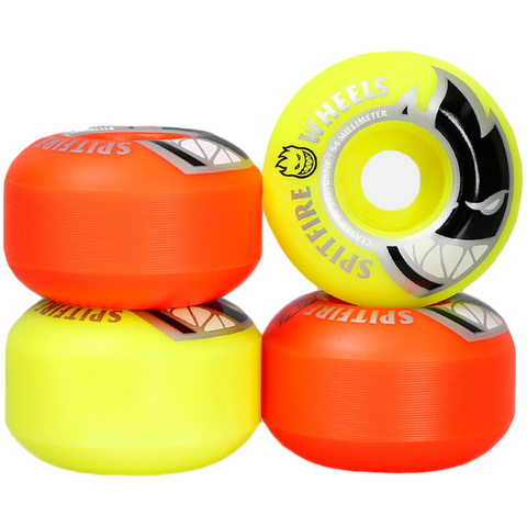 Spitfire Big Head Mashup Orange / Yellow 52mm