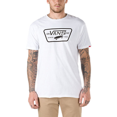 Vans Full Patch T-Shirt White