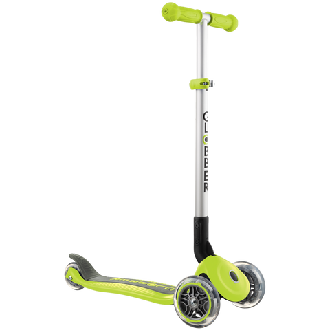 Globber Primo Foldable Scooter Lime Green