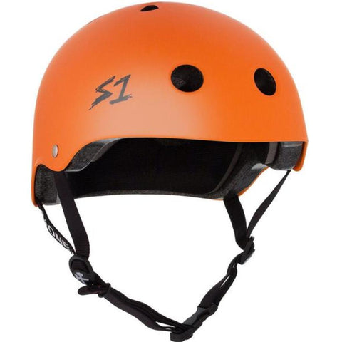 S-One Lifer Matte Orange Helmet