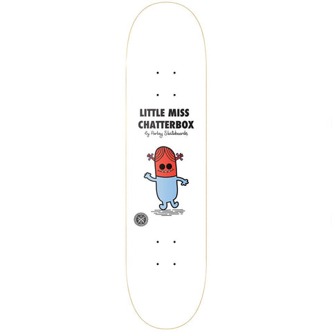 Parlay Little Miss Chatterbox Skateboard Deck